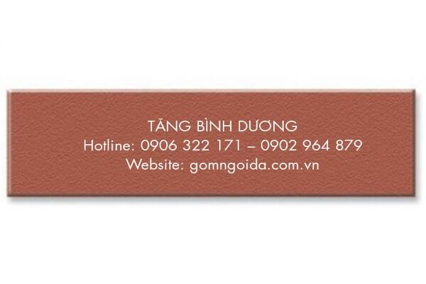 Gạch thẻ 6x24 đỏ Đất Việt