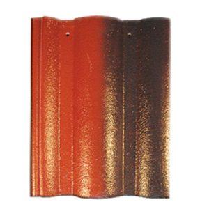 Ngói Màu Mỹ Xuân Đỏ đen M006