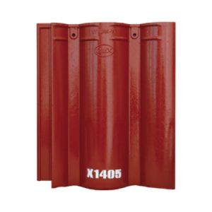 Ngói Màu Mỹ Xuân Đỏ Sậm X1405