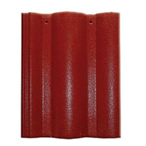 Ngói Màu Mỹ Xuân Đỏ Sậm M005