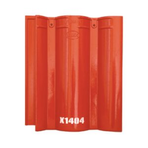 Ngói Màu Mỹ Xuân Đỏ Tươi X1404