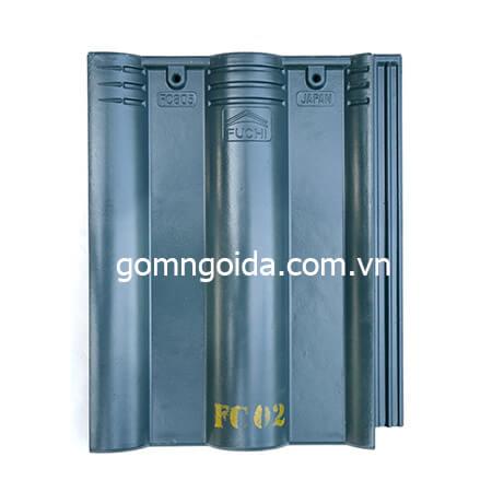 Ngói FUCHI màu xanh rêu FC02
