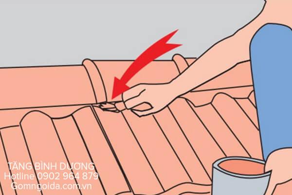 Cách lợp ngói nóc lớn Đồng Nai