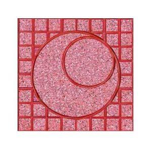 Gạch Terrazzo Mặt Trăng đỏ