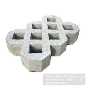Gạch Trồng Cỏ 8 Lỗ Nhám